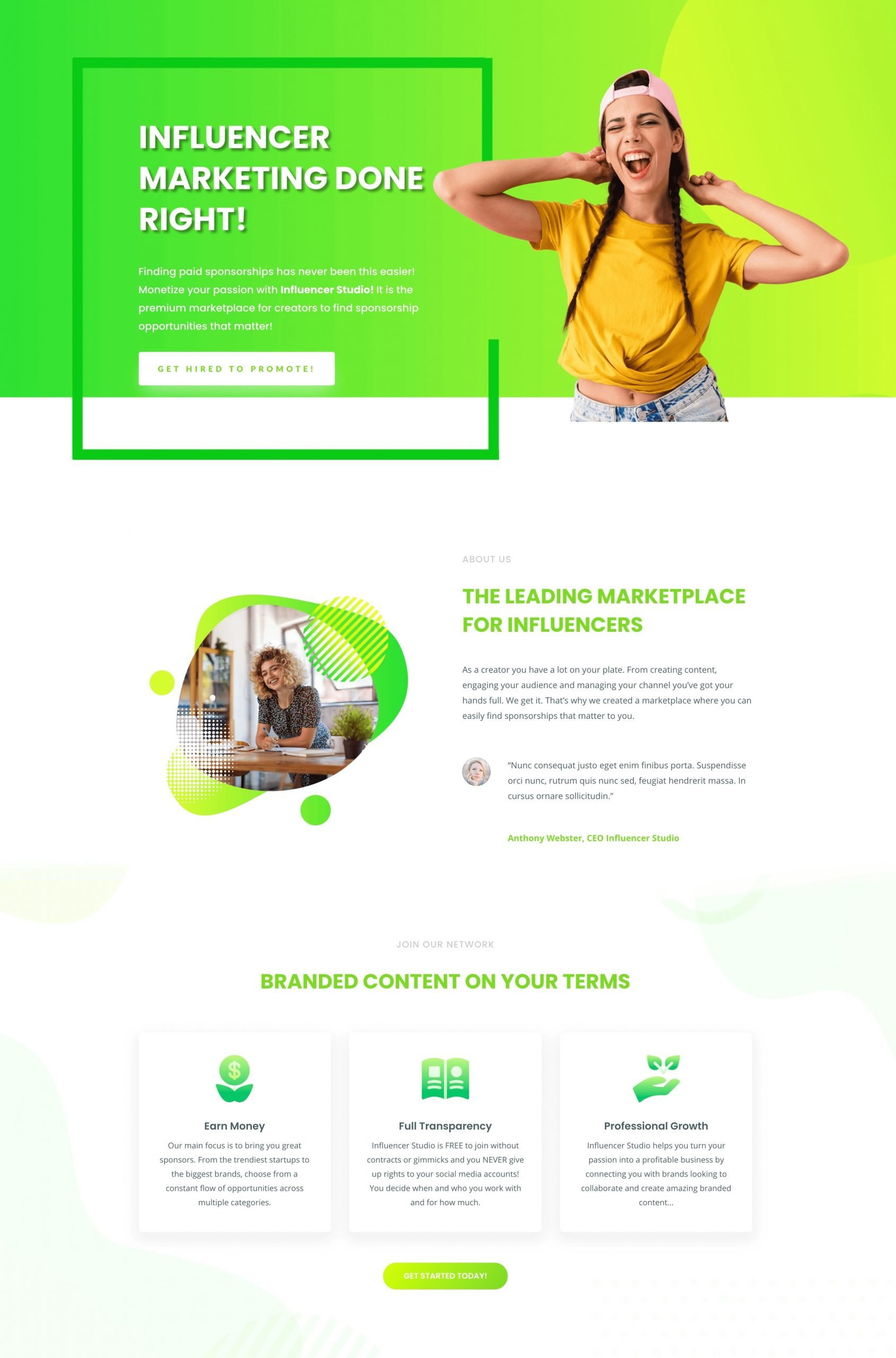 Custom Website Design By Inuri
